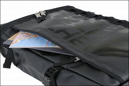ザノースフェイス BCヒューズボックス NM81630 リュック リュックサック ザック ナップサック デイパック バックパック ブラック K 外観 画像 写真 外側 ポケット 書類 本 収納 可能