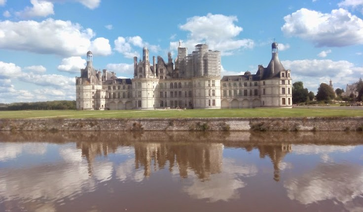 castillo chambord loire francia