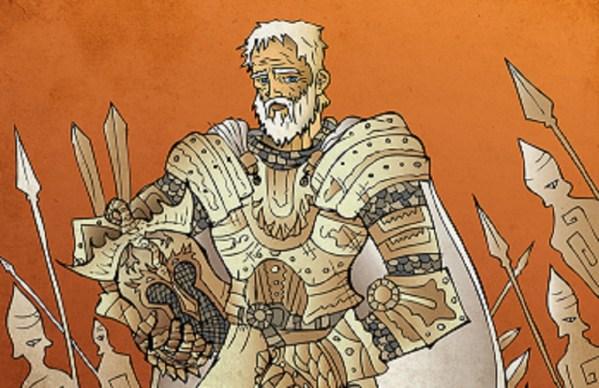 Ilustración de Ser Barristan Selmy