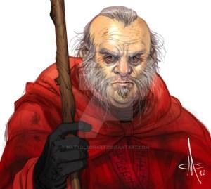Ilustración de Thoros de Myr