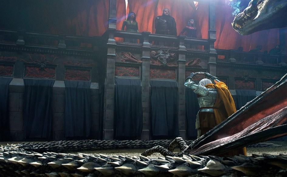 Daemon Targaryen ofrece su corona