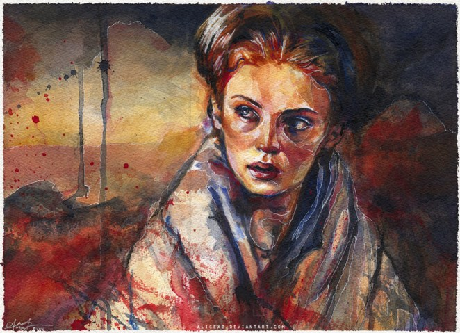 La Joven Lady Sansa Stark