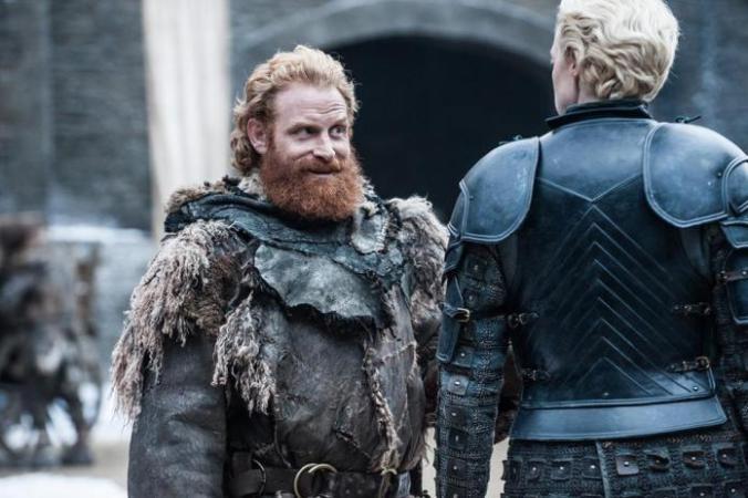 Tormund, Brienne, nuevas imágenes