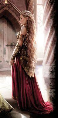 Una de las reinas de Poniente, Rhaenys Targaryen