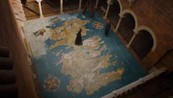 Cersei sobre los Siete Reinos