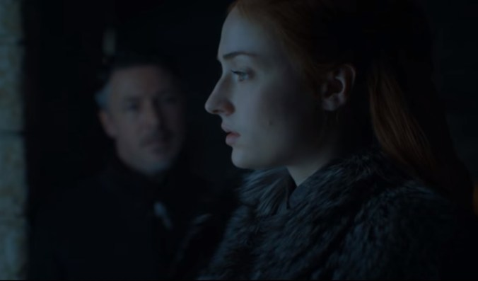 Sansa y Meñique