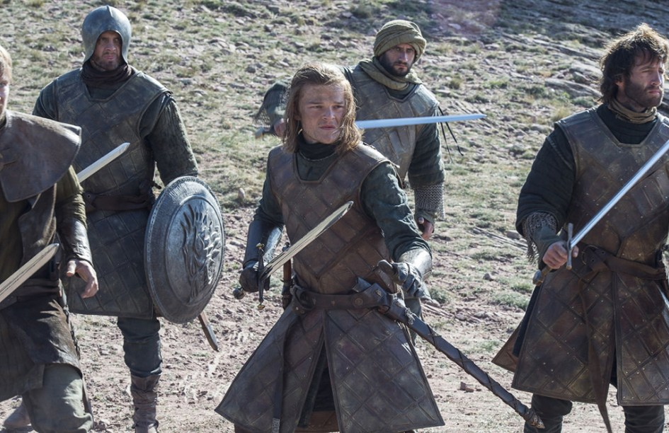 Ned Stark joven en la Torre de la Alegría