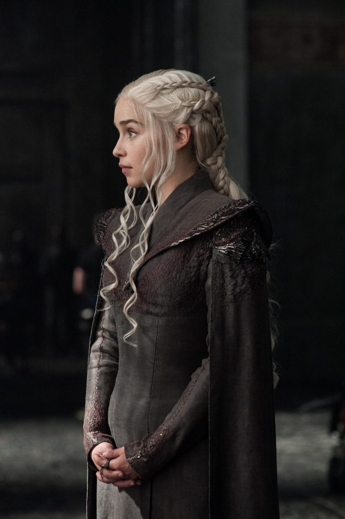 Daenerys Targaryen en la séptima temporada de Juego de Tronos