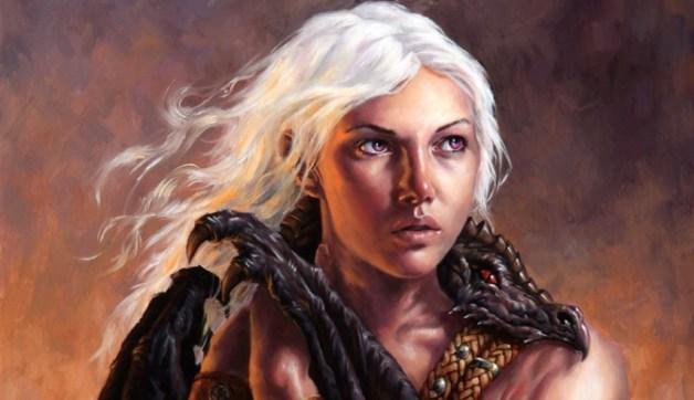 Daenerys Targaryen,de la Tormenta, la que no arde, madre de dragones