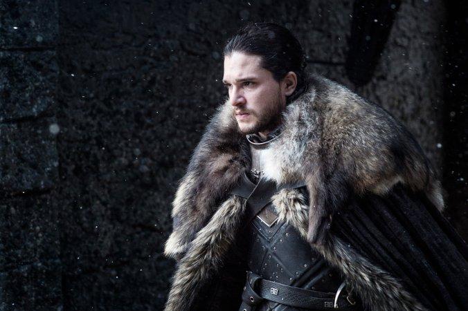 Kit Harington como Jon Snow en la séptima temporada de Juego de Tronos