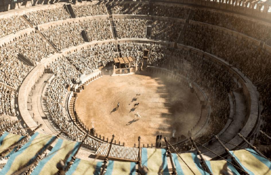 Las arenas de combate, Meereen, HBO
