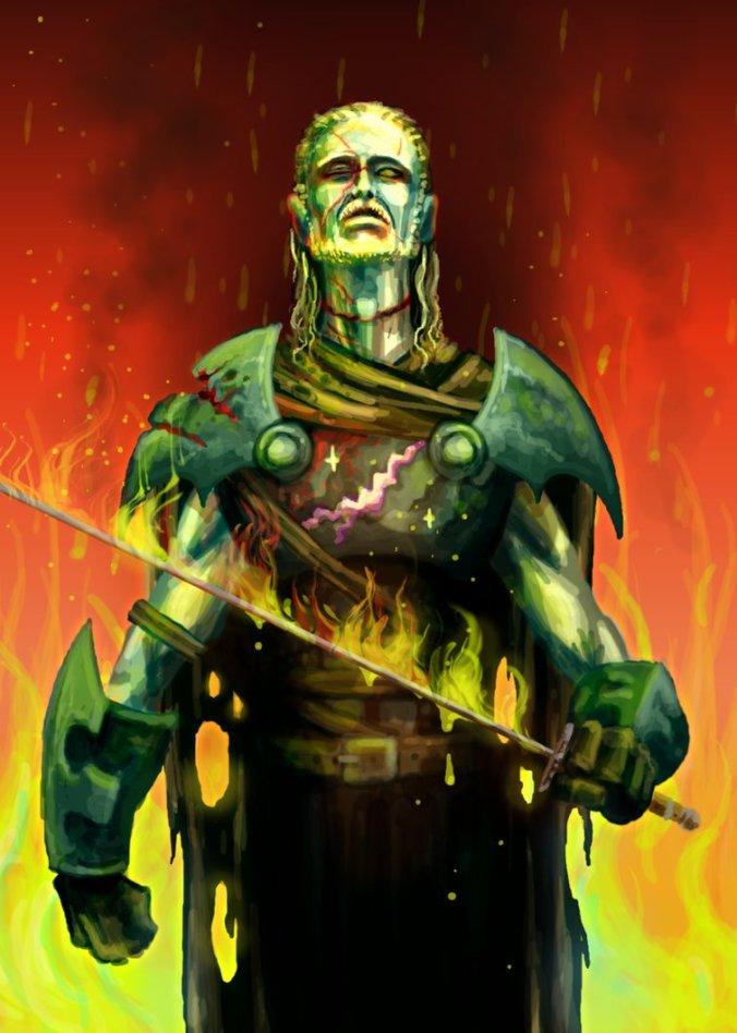 The Lightning Lord. Lord Beric Dondarrion. Hermandad sin Estandartes