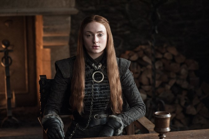 Sophie Turner como Sansa Stark en la nueva temporada de Game of Thrones