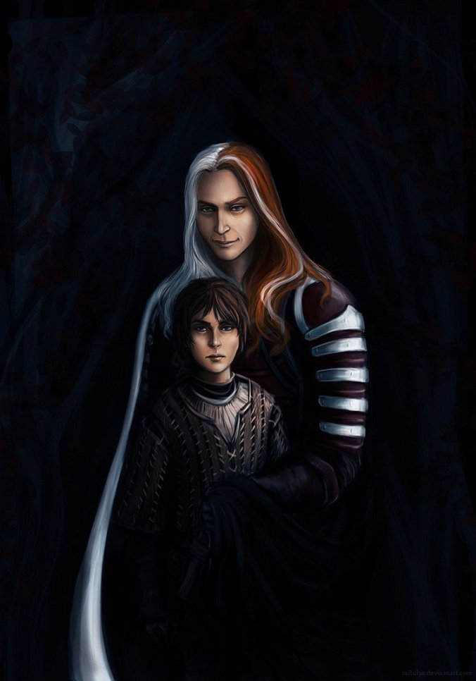 Arya Stark y Jaqen