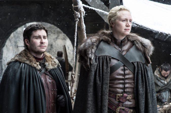 Podrick Payne y Brienne de Tarth