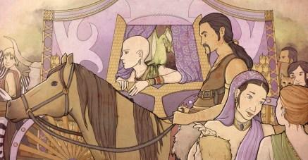 Daenerys en Qarth