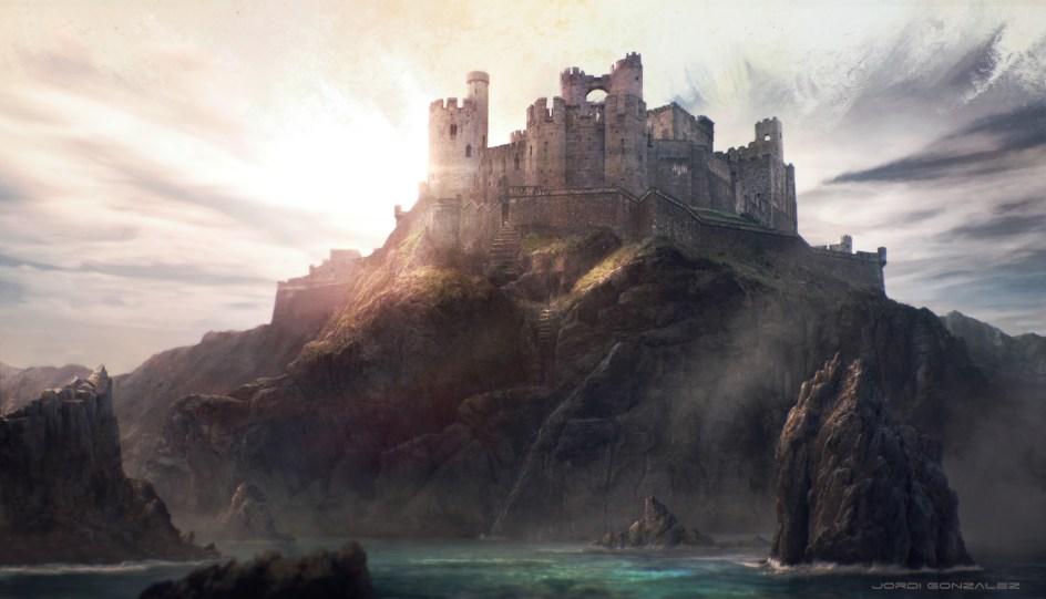 Castillo del Atardecer en Tarth,