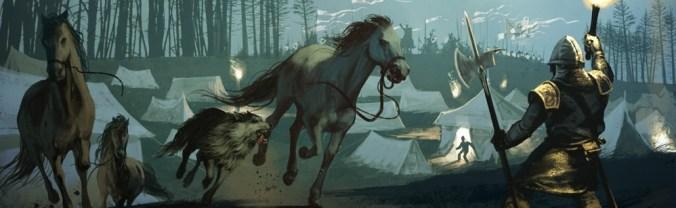 Batalla en la nieve por Invernalia en Vientos de Invierno