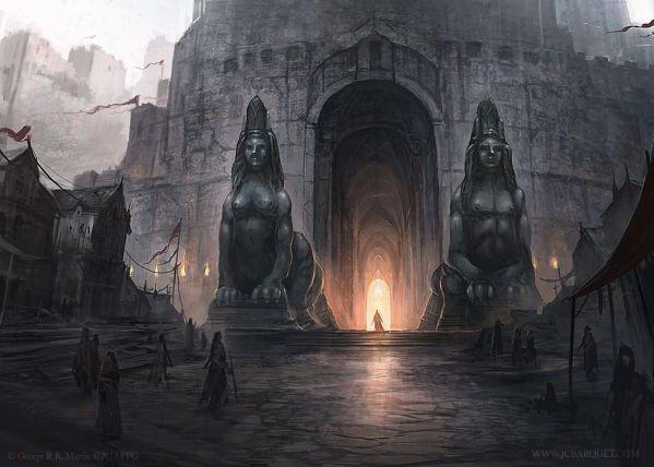 Puertas de la Ciudadela por Juan Carlos Barquet Fantasy Flight Games©