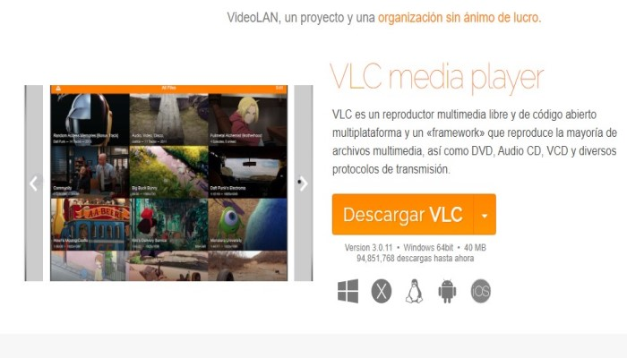 ດາວໂຫລດ VLC