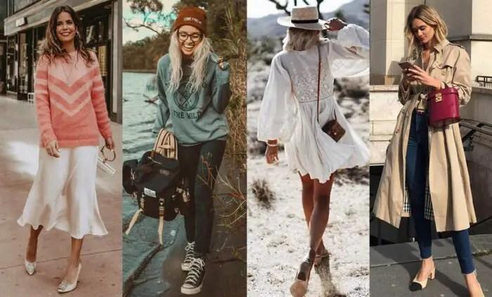 Estilos de ropa de mujer