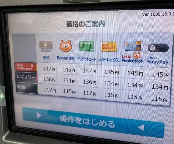 昭和シェル石油/レギュラー
