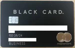 ラグジュアリーカード/MastercardBlack Cardの利用状況