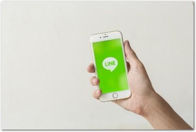 LINEの着信をiPhoneでロック画面に表示させるには