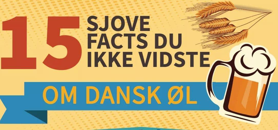 15 sjove fakta om dansk øl