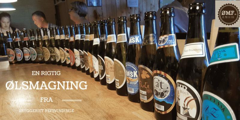 Refsvindinge Bryggeri - ølsmagning 1