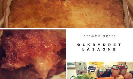 Ølkrydret lasagne