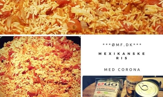 Mexikanske ris med Corona