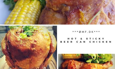 Hot & Sticky Beer can chicken