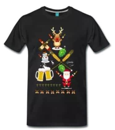 Køb ugly christmas ølshirts