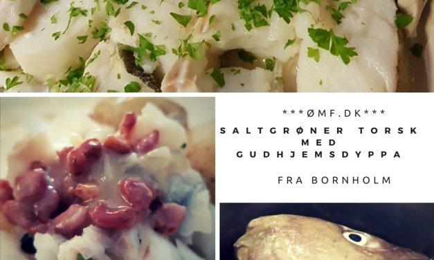Saltgrøner torsk med Gudhjemsdyppa