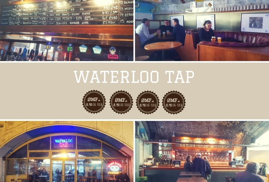 The Waterloo Tap – 4 ØMF'er