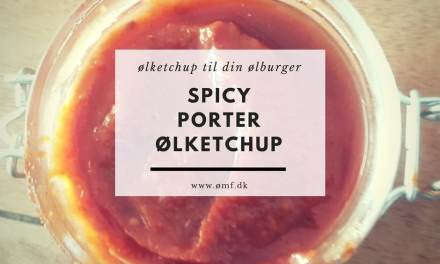 Spicy Porter Ølketchup