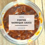 Porter Barbeque Sauce