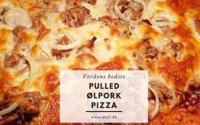 Pulled Ølpork Pizza – PØPP