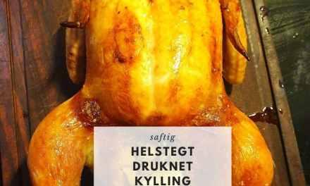 Helstegt druknet kylling