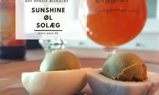 Sunshine øl solæg