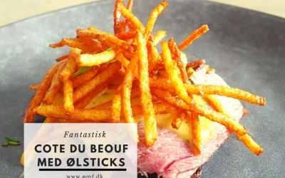 Côte du Boeuf med Ølsticks