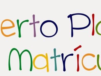 COMIENZA NUESTRO PERIODO DE MATRICULACIÓN