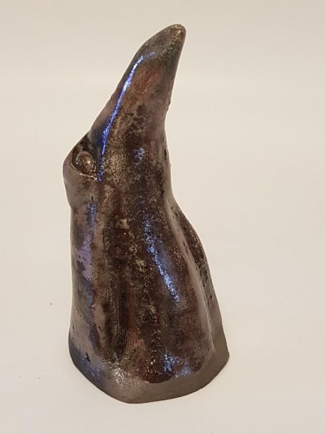K659-2019 Raku Pingvin Sølvgrøn JF