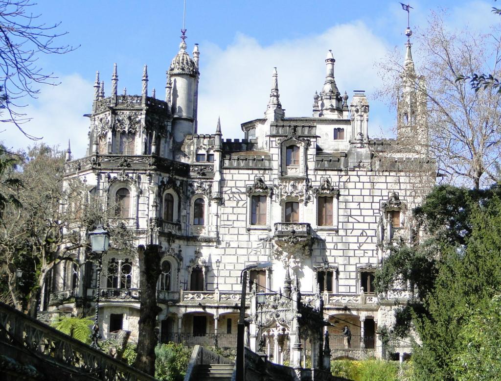 Atrakcje turystyczne Sintry pałac w Quainta daRegaleira