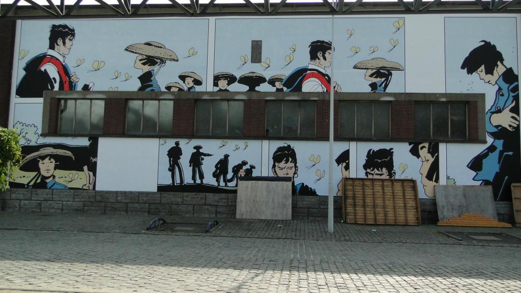szlakiem belgijskich komiksów