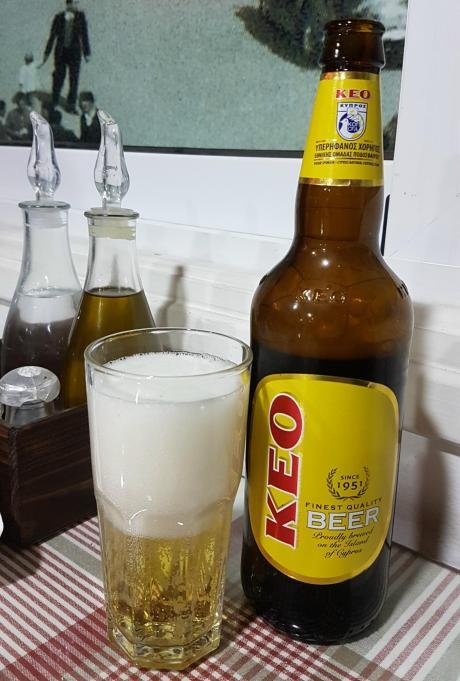 Informacje praktyczne o Cyprze - lokalne piwo