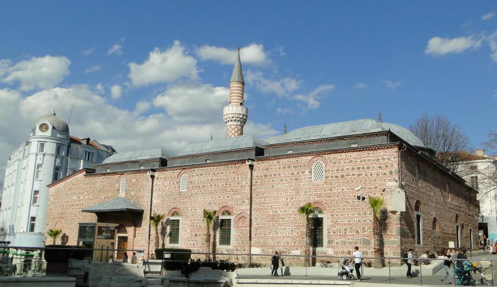 Zwiedzanie Płowdiwu - meczet Dżumaja