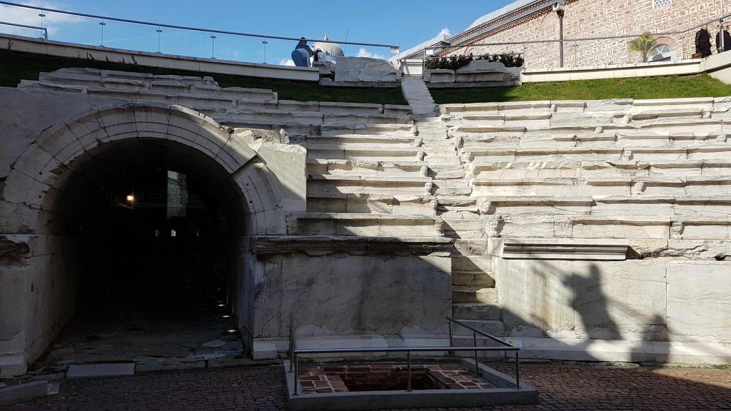 Zwiedzanie Płowdiwu - rzymski stadion