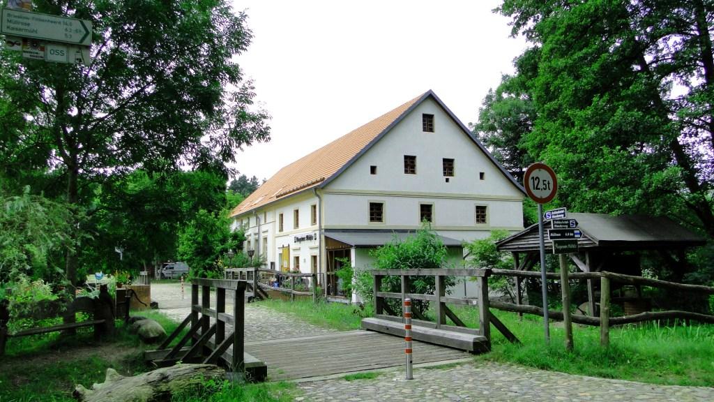 Zwiedzanie okolic Frankfurtu nad Odrą rowerem - Rogower Mühle